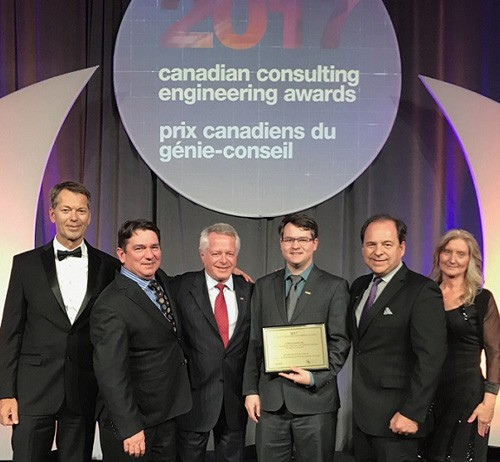 Canadian Consulting Engineering Award in the Natural Resources, Mining, Industry, & Energy