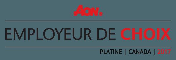 AON Employeurs de choix 2017
